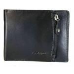Δερμάτινο πορτοφόλι, χωράει ταυτότητα, Lavor - Wallet - black 1-3650