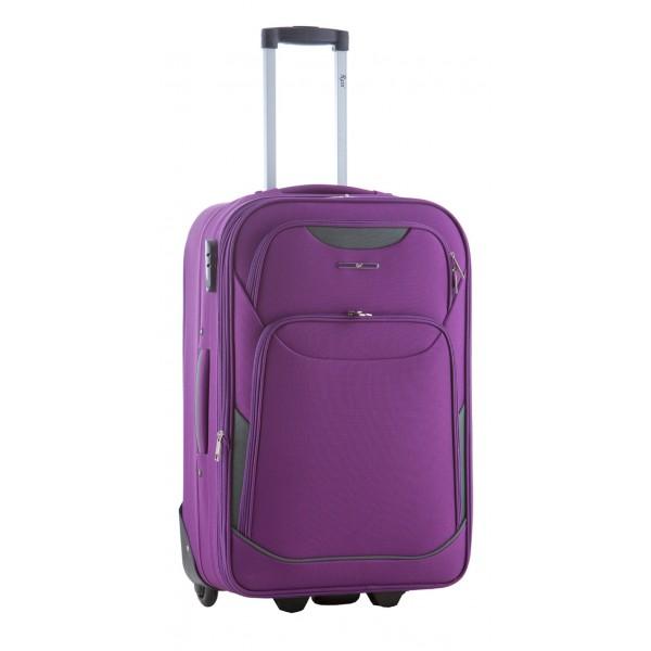 Μεσαία βαλίτσα 65 εκ. μωβ Rain RB9020