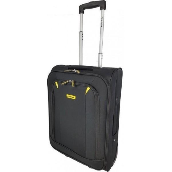 Ryanair 55χ40χ20cm απόλυτη διαστάσεων Diplomat ZC931 Μαύρο
