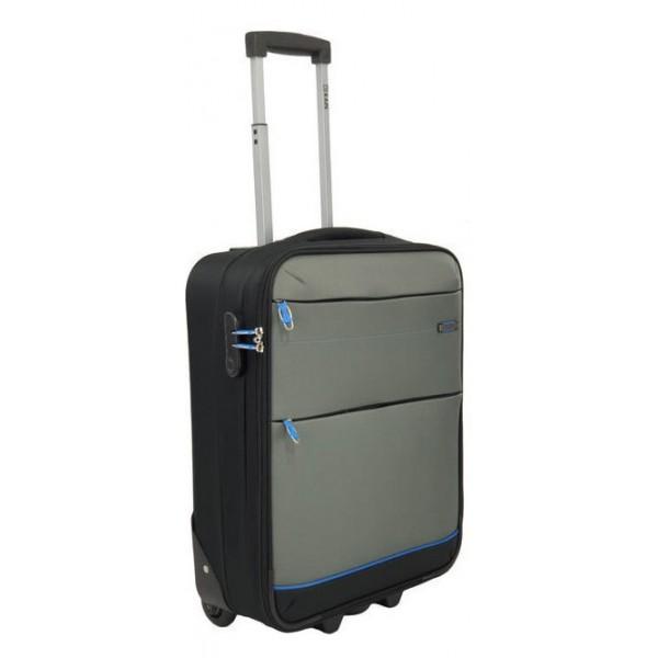Βαλίτσα Καμπίνας Rain RB9820 μαυρο γκρι