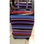 Βαλίτσα καμπίνας Σκληρή ABS 4 Ρόδες 55εκ. ΟΕΜ Πολύχρωμη