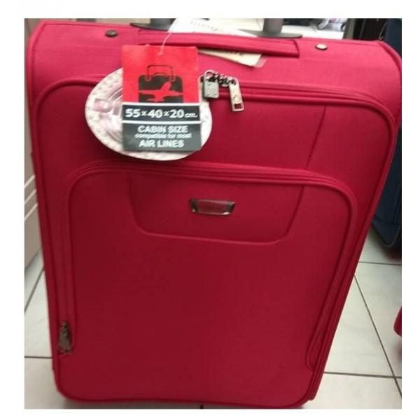 Βαλίτσα Καμπίνας Diplomat ZC980-55 Κόκκινη 55 εκατ