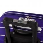 Υφασμάτινη βαλίτσα καμπίνας OΕΜ 54x40x20 μπλε έντονο