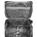 Βαλίτσα VIAGIO υφασμάτινη με 4 ρόδες μαύρη - μεγάλη