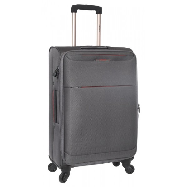 Bαλίτσα τρόλεϊ καμπίνας Diplomat ZC6040-55 γκρι