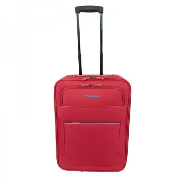 Βαλίτσα Diplomat ZC3001 με 2 Ρόδες Χειραποσκευή 55x40x20cm