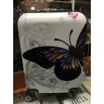 Βαλίτσα βάπτισης-χειραποσκευή Πεταλούδα λευκή