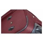 GIGA Πολύ μεγάλη μπορντώ βαλίτσα για 23-34 kg μεταφοράς