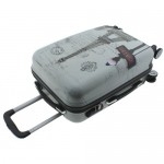 Βαλίτσα Σκληρή ABS 4 Ρόδες 55εκ OEM Paris