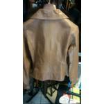 Δερμάτινο γυναικείο ΖIP Leather jacket
