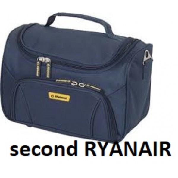 Δεύτερη χειραποσκευή Ryanair 35x20x20 μπλε
