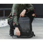 Backpack Σακίδιο Πλάτης Ενσωματωμένο USB θήρα, μαύρο erres 11