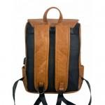 Backpack σακίδιο Laptop  Καφέ με θύρα USB, ERRES 2