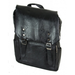 Backpack Σακίδιο Laptop μαύρο POLO Romano 1