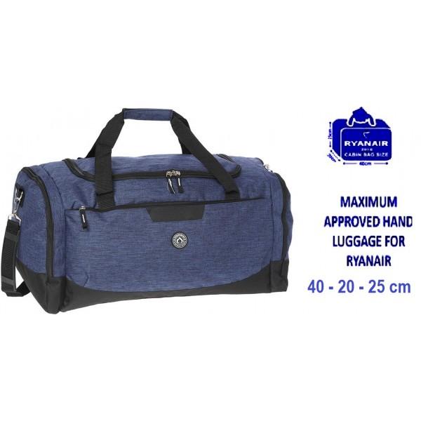 Σάκος Ταξιδίου 40x20x25 Diplomat Sac60-40 Μπλε σκούρο