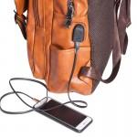 Backpack σακίδιο Laptop ταμπά με θύρα USB, ERRES 18