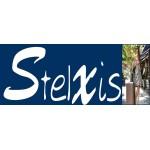 Βαλίτσα Μεγάλη Σκληρή 4 Ρόδες 70 εκ Stelxis 505-70 Μαύρο