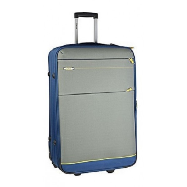 Βαλίτσα Μεγάλη Υφασμάτινη 2 Ρόδες Rain 9820 Mπλε/γκρι