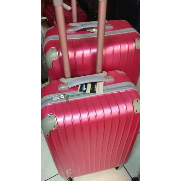 Σετ βαλίτσες 2 τεμαχίων YOU 10 75cm-65cm ροζ