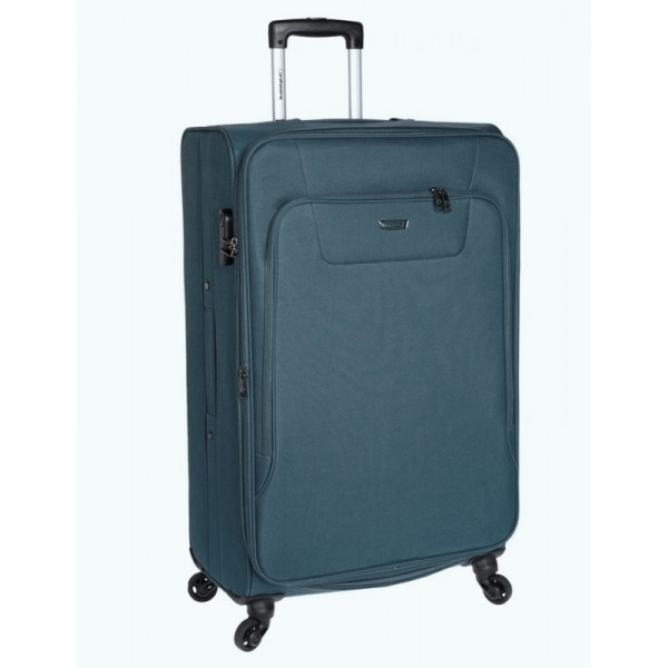 Βαλίτσα Μεγάλη 77cm με 4 Ρόδες & Επέκταση Diplomat ZC984-71 Μπλε