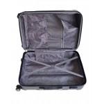 GIGA Πολύ μεγάλη βαλίτσα για 23-34 kg με επέκταση σκληρή μαύρο Pacific-USA Extra jumbo