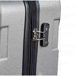 GIGA Πολύ μεγάλη βαλίτσα για 23-34 kg μεταφοράς με επέκταση Forecast HFA-083 μπλε