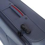 Υφασμάτινη βαλίτσα Μεγάλου μεγέθους με 2 ρόδες Diplomat the Athens collection 6039 large μπλε