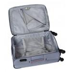 Βαλίτσα Μεσαία με 4 ρόδες υφασμάτινη Diplomat THE ATHENS COLLECTION 6040-MEDIUM σιέλ