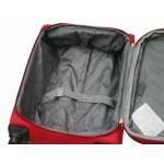 μεγάλη βαλίτσα τρόλεϊ με 4 ρόδες μπορντώ OIXIANG