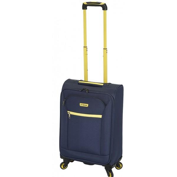 Diplomat ZC 974-71 μεγάλη βαλίτσα τρόλεϊ με 4 ρόδες ελαφριά μπλε