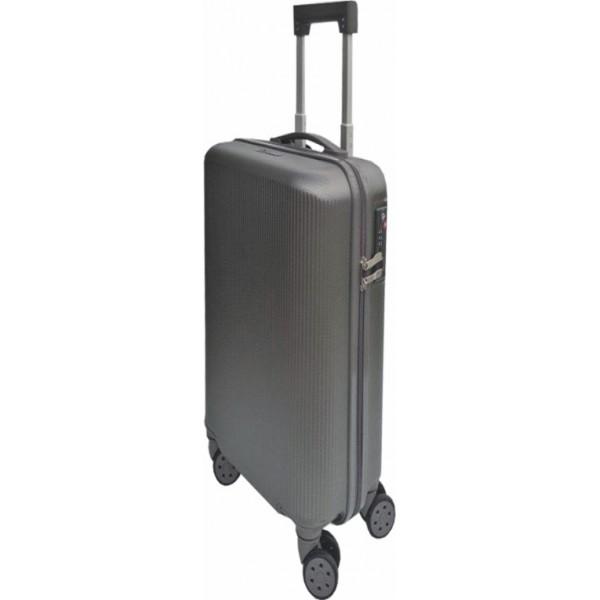 Σκληρή βαλίτσα με ποτηροθήκη  FORECAST A722 ανθρακι