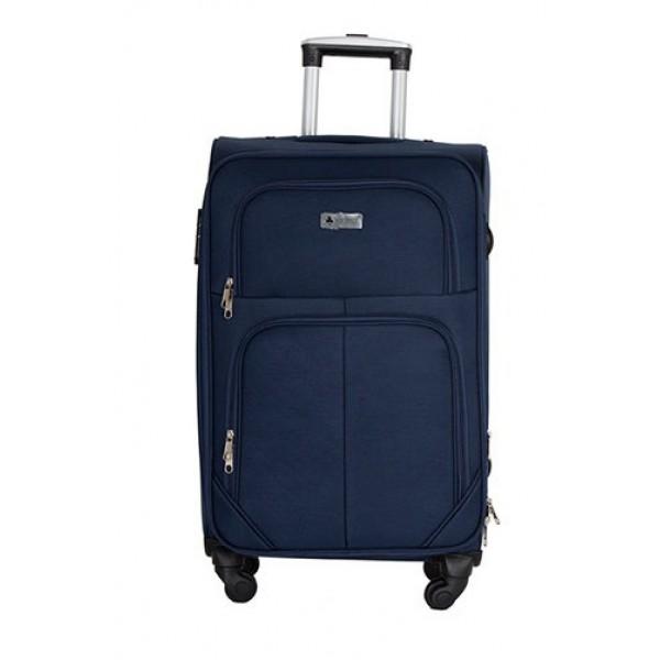 GIGA Πολύ μεγάλη μπλε βαλίτσα για 23-34 kg μεταφοράς