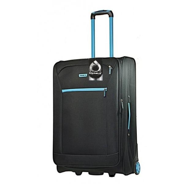 Βαλίτσα τρόλεϊ μεγάλη Diplomat ZC 975-71 Μαύρο