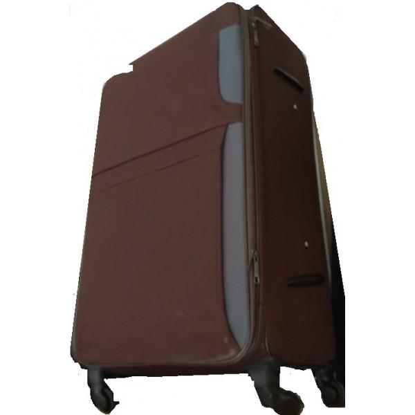 Μεγάλη βαλίτσα με φυσούνα, 4 ρόδες, Sanzheng 90 litr