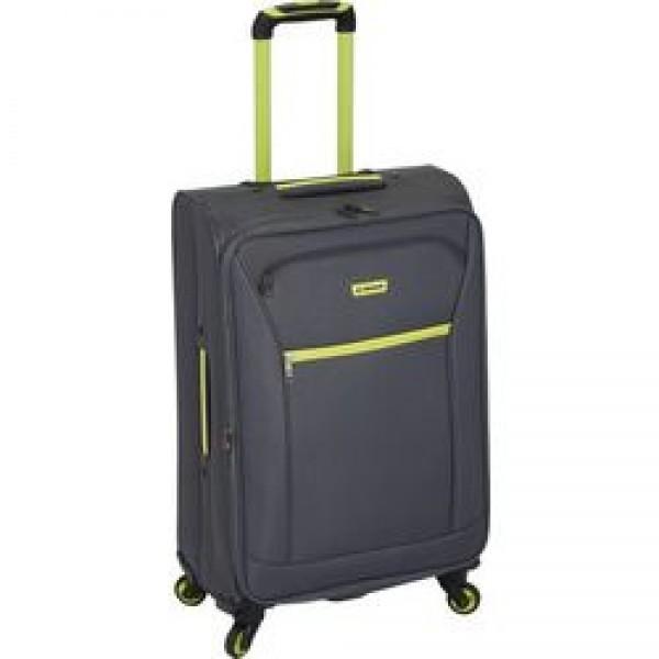 Diplomat ZC 974-71 μεγάλη βαλίτσα τρόλεϊ με 4 ρόδες γκρι