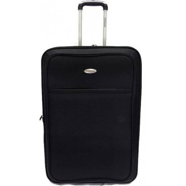 Diplomat ZC801-61 μεσαία βαλίτσα τρόλεϊ μαύρη