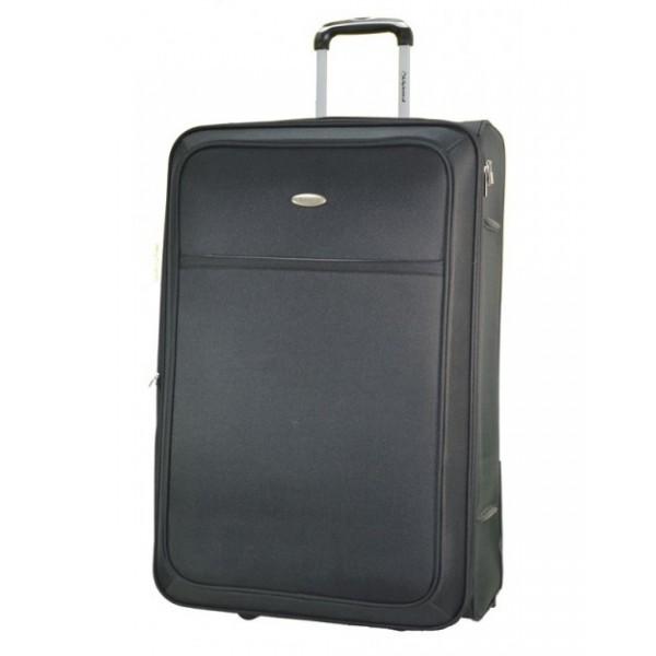 Diplomat ZC801 μεγάλη βαλίτσα τρόλεϊ γκρι με επέκταση