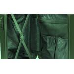 Σκληρή βαλίτσα με ποτηροθήκη, μεγάλη ,διπλές ρόδες, TSA κλειδαριά FORECAST A722 Πράσινη 75εκ