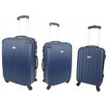 Σετ βαλίτσες 3 τεμαχίων Forecast DQ110 μπλε