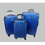 Σετ βαλίτσες 3 τεμαχίων Forecast DQ110 μπλε έντονο