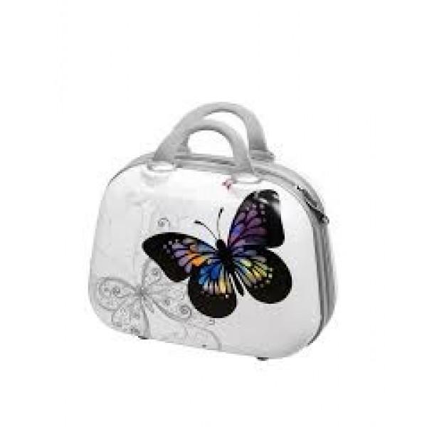 Nεσεσέρ βαλιτσάκι ταξιδίου abs print butterfly1
