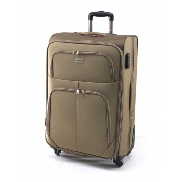GIGA Πολύ μεγάλη βαλίτσα για 23-34 kg μεταφοράς χακί
