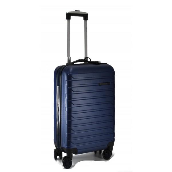Βαλίτσα μεσαία 65x45X25cm με 4ρόδες RAIN RB8081-65-Blue navy