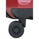 Βαλίτσα μικρή καμπίνας 55-40-20εκ RB9660 RAIN με 4 διπλές ρόδες μπορντώ
