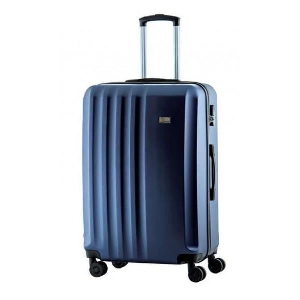 Βαλίτσα RB9660 RAIN σκληρή μεσαία με 4 διπλές ρόδες μπλε