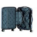 Βαλίτσα μικρή καμπίνας 55-40-20εκ RB9660 RAIN με 4 διπλές ρόδες ανθρακί