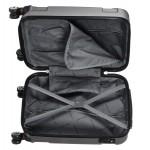 GIGA Πολύ μεγάλη βαλίτσα για 23-34 kg με επέκταση σκληρή μαύρο Pacific-USA