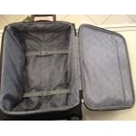Μεγάλη βαλίτσα Skyflite Calypso,  Ultra light  80cm κόκκινο/μαύρο