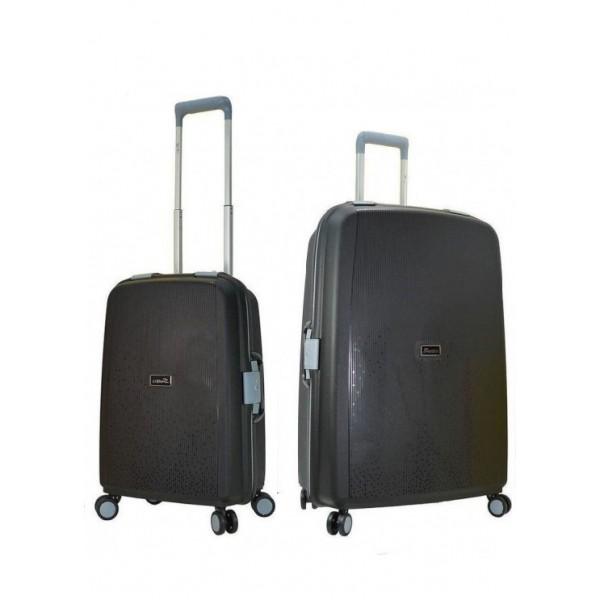 Βαλίτσα premium, STELXIS 515 ΣΕΤ2 τεμαχίων μαύρο