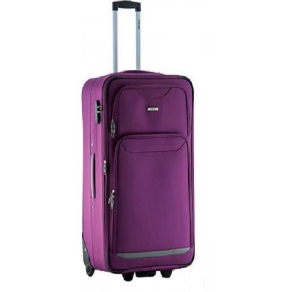 Μεγάλη βαλίτσα 75 εκ. μωβ Rain RB9070